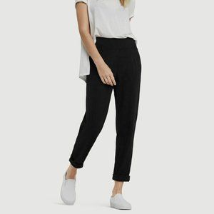 Kit and Ace Black Mulberry Ponte Knit Pant